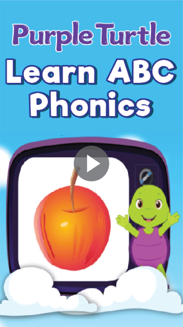 Purple Turtle Learn ABC Phonics  (Version-2)