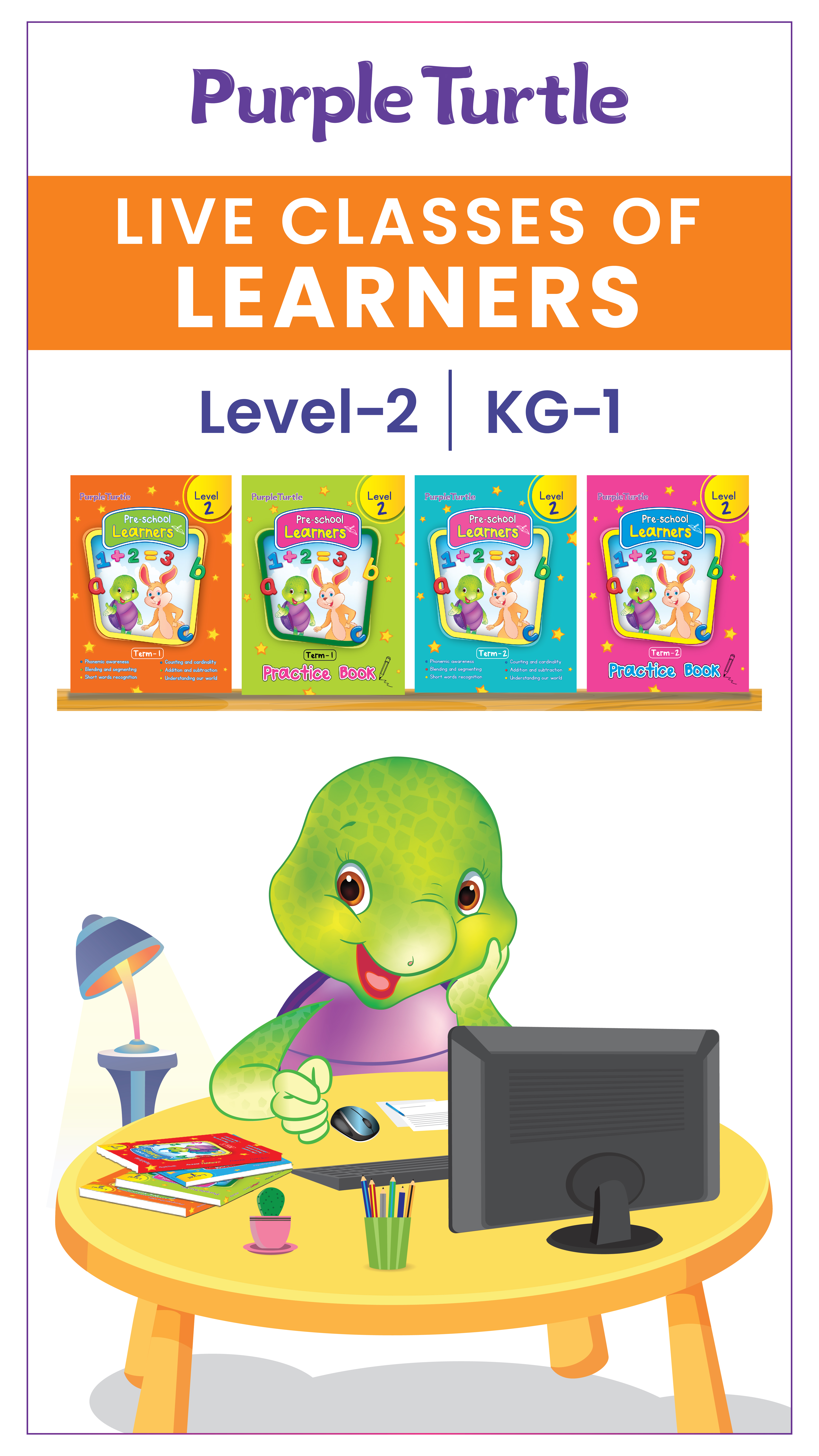 Purple Turtle Live Interactive Class -KG 1   (4th Dec 2020)