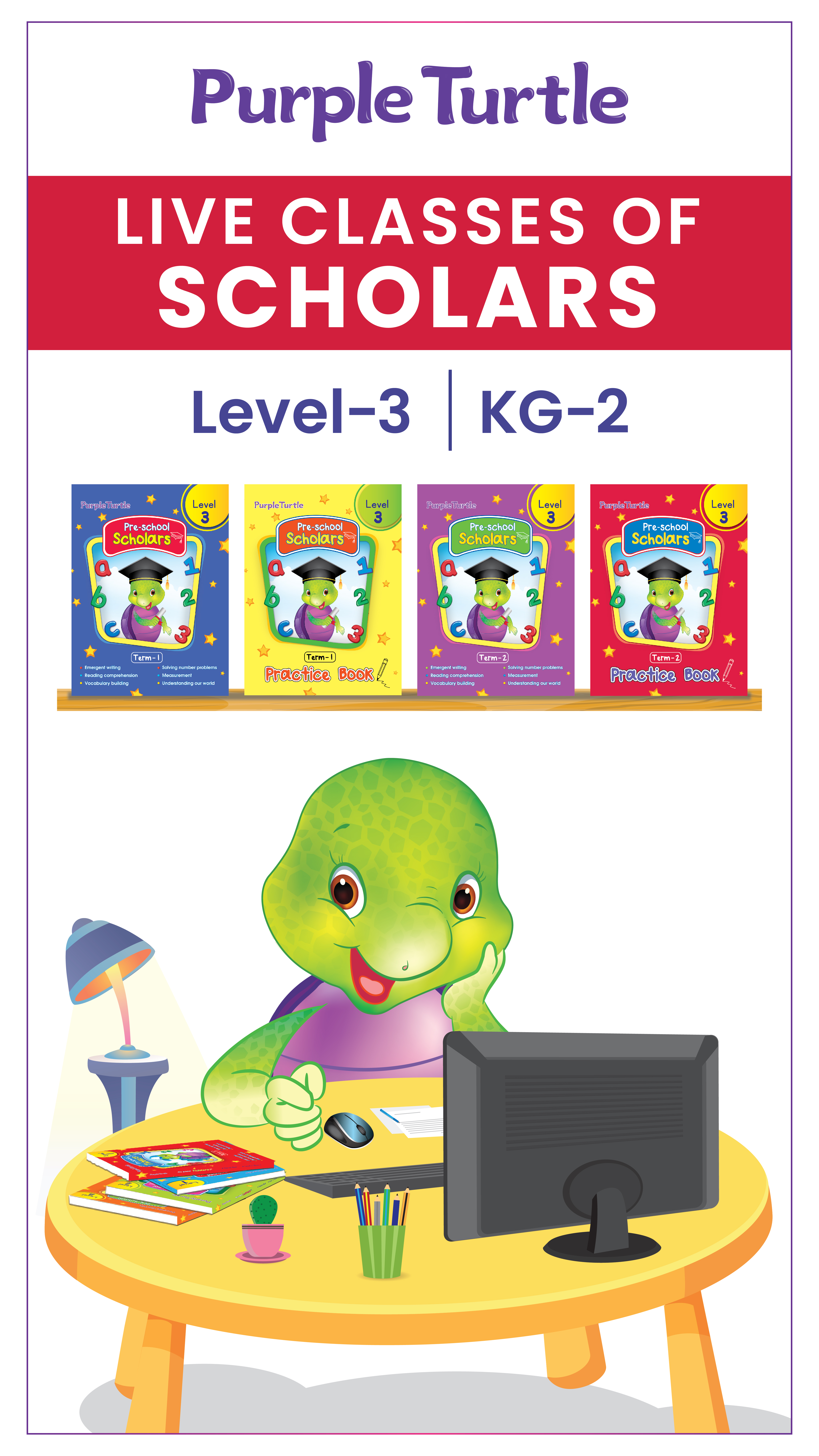 Purple Turtle Live Interactive Class-KG 2  (4th Dec 2020)