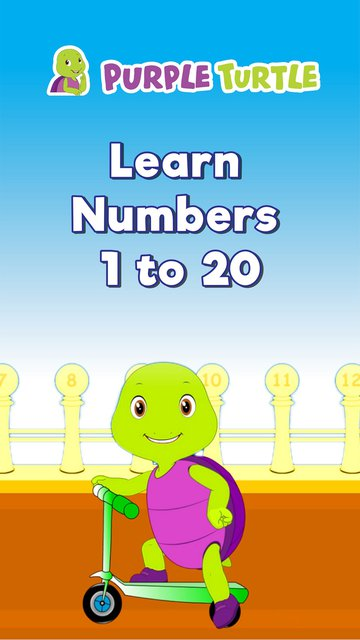 Purple Learn Numbers 1 to 20