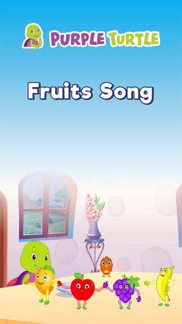 Fruits Song with Purple Turtle Version 1