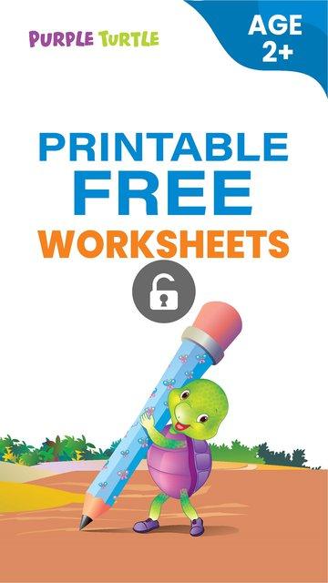 Free Sample Worksheets for Nursery
