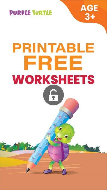 Free Sample Worksheets for LKG