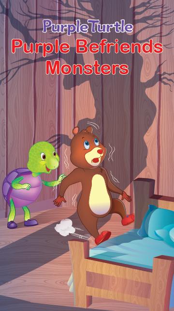 Purple's Befriends Monsters